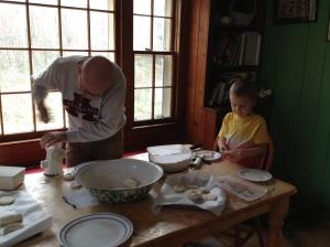 Making Salt Dough Food